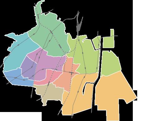 駅名のマップ