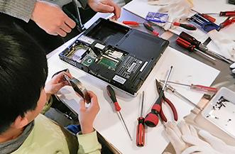 ミセエコ「ノートパソコンを解体してオリジナルロボットをつくろう!」