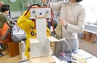 ミセエコ 商店街の廃棄物を利用してオリジナルロボットをつくろう!